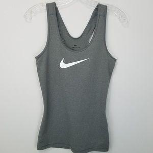 Nike logo workout tank